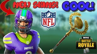 "*NEW FOOTBALL SKINS ""BLITZ SKIN"" + GOLDEN PIGSKIN AXE GAMEPLAY 