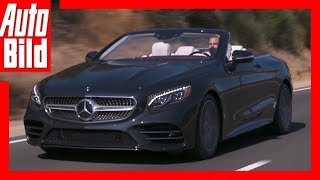 Mercedes S-Klasse Cabrio (2017) - Das Frischluft-Facelift Review/Test/Details