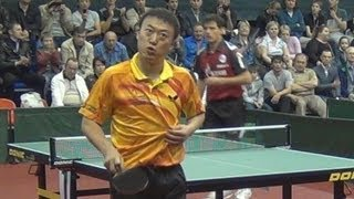 MA Lin vs Alexey SMIRNOV FINAL 2of3 Games Russian Premier League Playoff Table Tennis