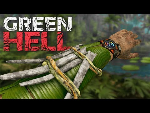 THE COMBAT UPDATE! Green Hell Survival Gameplay Episode 11