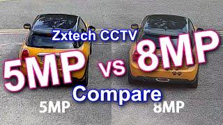 5MP vs 8MP 4K CCTV Cameras
