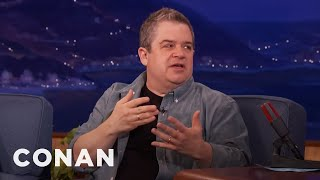 Patton Oswalt Met His Wife On Facebook  - CONAN on TBS