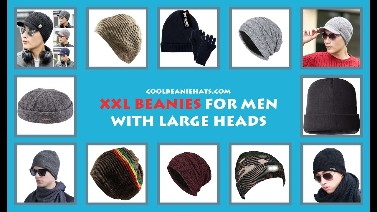 b13aa860 10 Best XXL Beanies For Men With Large Heads [Extra Large] - Cool Beanie  Hats