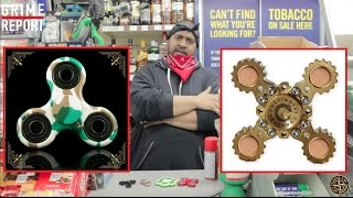 £5 Fidget Spinner Vs £16 Fidget Spinner, Which Is The BEST? [Science 4 Da Mandem] Grime Report Tv