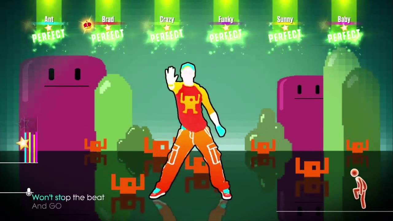 how to play just dance on tv