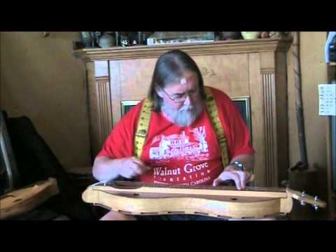 "Ben Seymour plays ""Bile Them Cabbage Down"" on Sycamore Dulcimer"