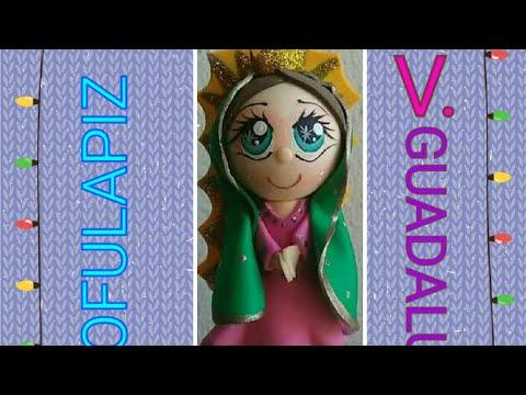 Fofulapiz Imagen Virgen De Guadalupe.