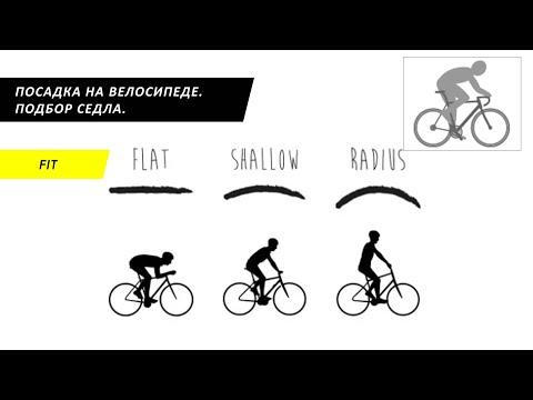 Посадка на велосипеде. Часть 3. Подбор седла