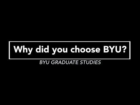 Why BYU Graduate Studies? : International Perspective