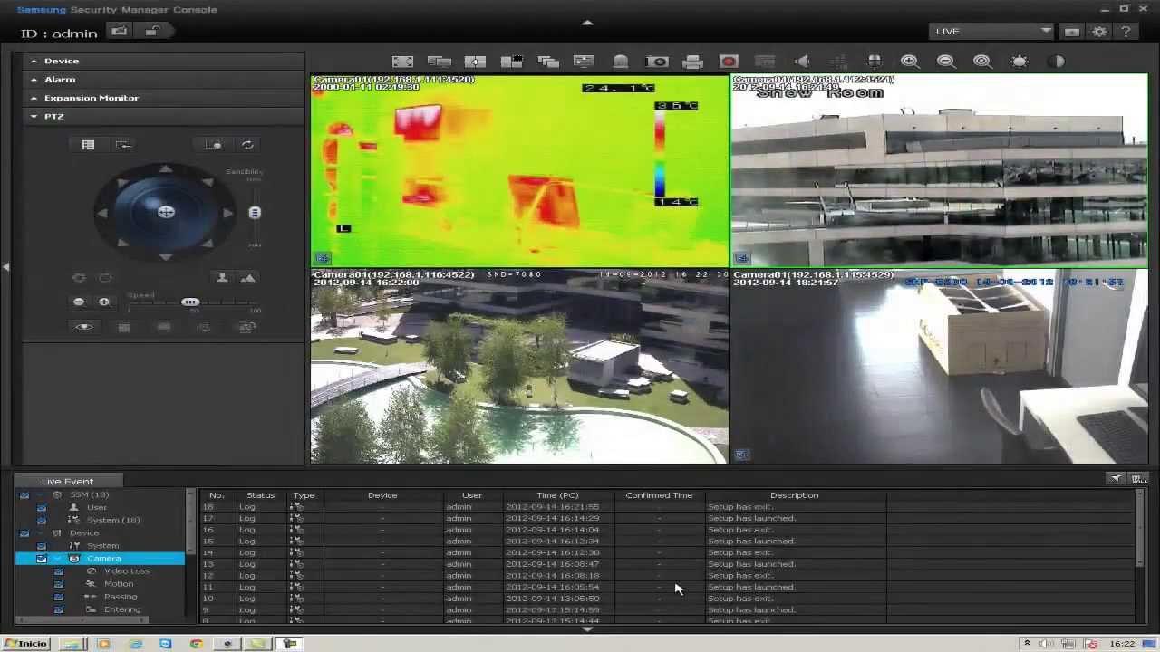 Samsung Security Manager SSM Setup Video
