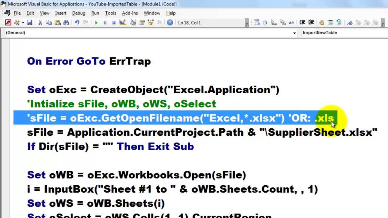 Use Microsoft Query to retrieve external data