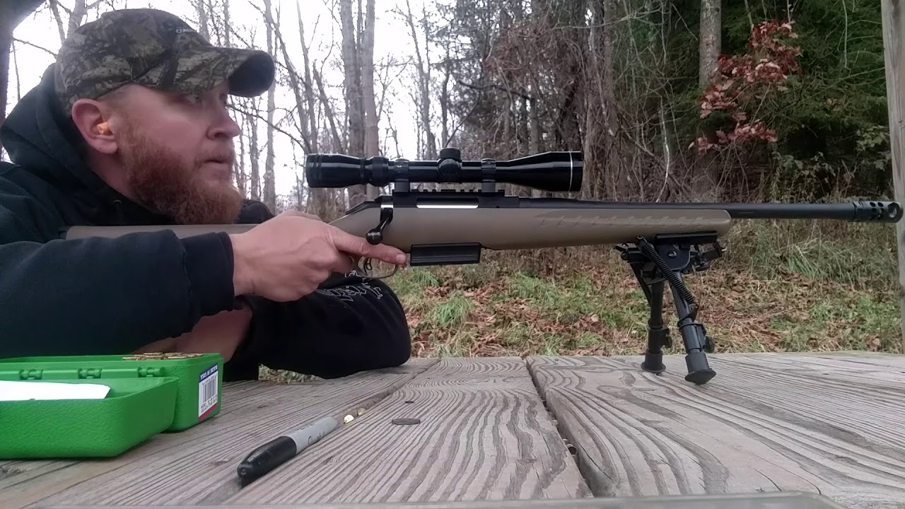 450 Bushmaster testing handloads 300gr FTX muzzleloader bullets and LIL Gun  powder