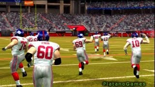 NFL 2007 Super Bowl XLII - New York Giants vs New England Patriots - 1st Qrt - Madden