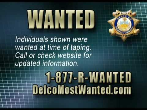 Delaware County's Most Wanted 3rd Show  Part 2 Sheriff Carolyn Bunny Welsh