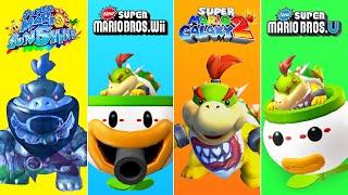 Evolution of Bowser Jr in Super Mario Games (2002-2021)