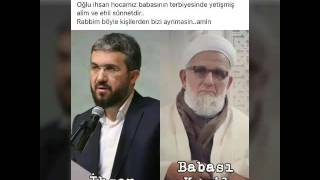 İhsan Şenocak ve Babası Kamil Şenocak Hoca