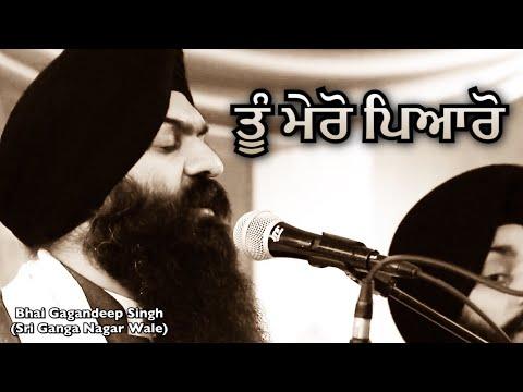 Tu Mero Pyaro - Bhai Gagandeep Singh (Sri Ganga Nagar Wale) - Live In UK