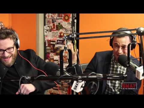 Seth Rogen, Anthony Mackie & Joseph Gordon-Levitt FREESTYLE on Sway in the Morning. Who's Better?!
