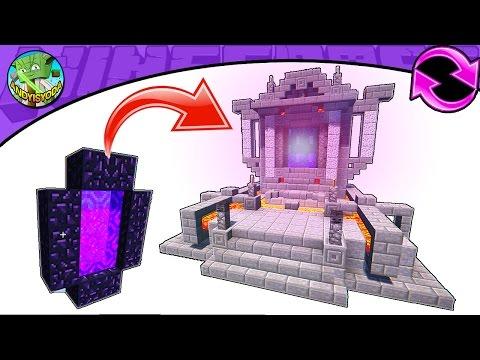 how to transform end portal