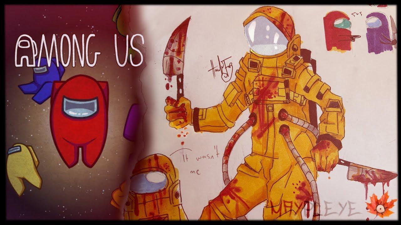 Among Us Imposter Fanart Among Us Fanart Wallpaper By Ko3shi D7 Free On Zedge
