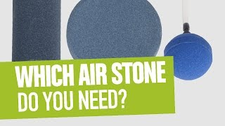 Which Air Stone Do You Need?