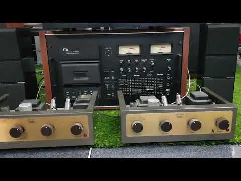 Beovox CX100 Speaker & Nakamachi Dragon Deck - Eico Tube Amp HF12 - Natural Beat Record