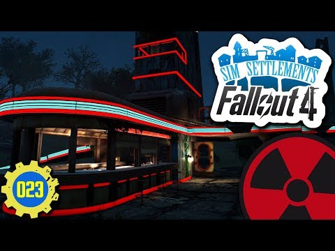 Fallout 4   Sim Settlements #023: Verschrottungsaktion am Starlight Drive-In ☢ [Lets Play - Deutsch]