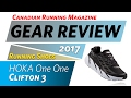 SHOE REVIEW: Hoka One One Clifton 3