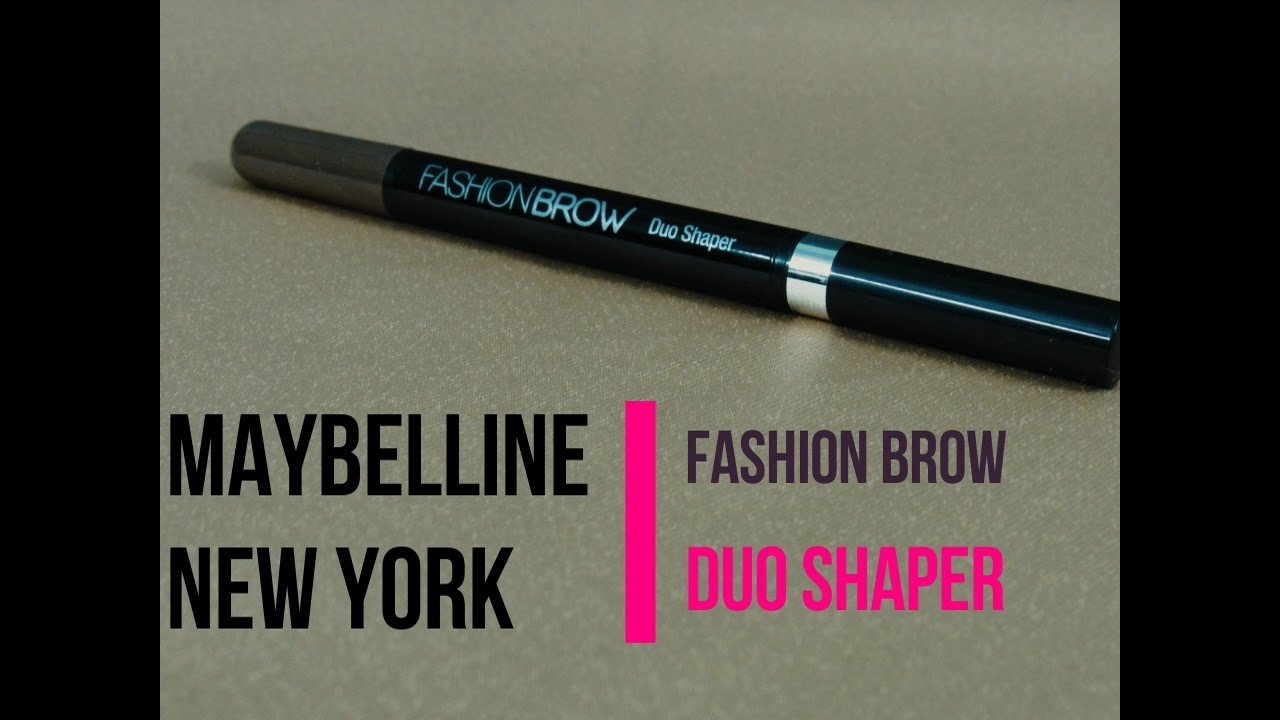 1fc09725c8a Maybelline Fashion Brow Duo Shaper | Review & Demo - YouTube