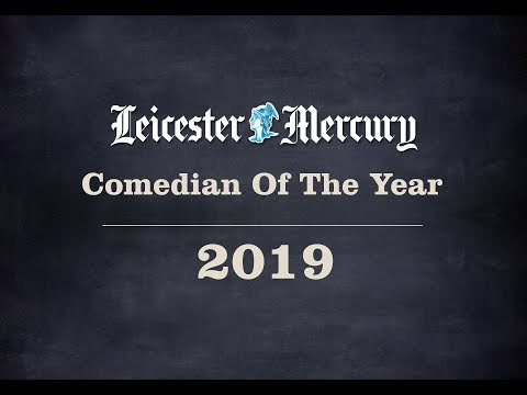 Leicester Mercury Comedian of the Year 2019