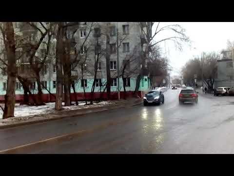 Москва 1989 2-й (второй) Силикатный проезд зима день