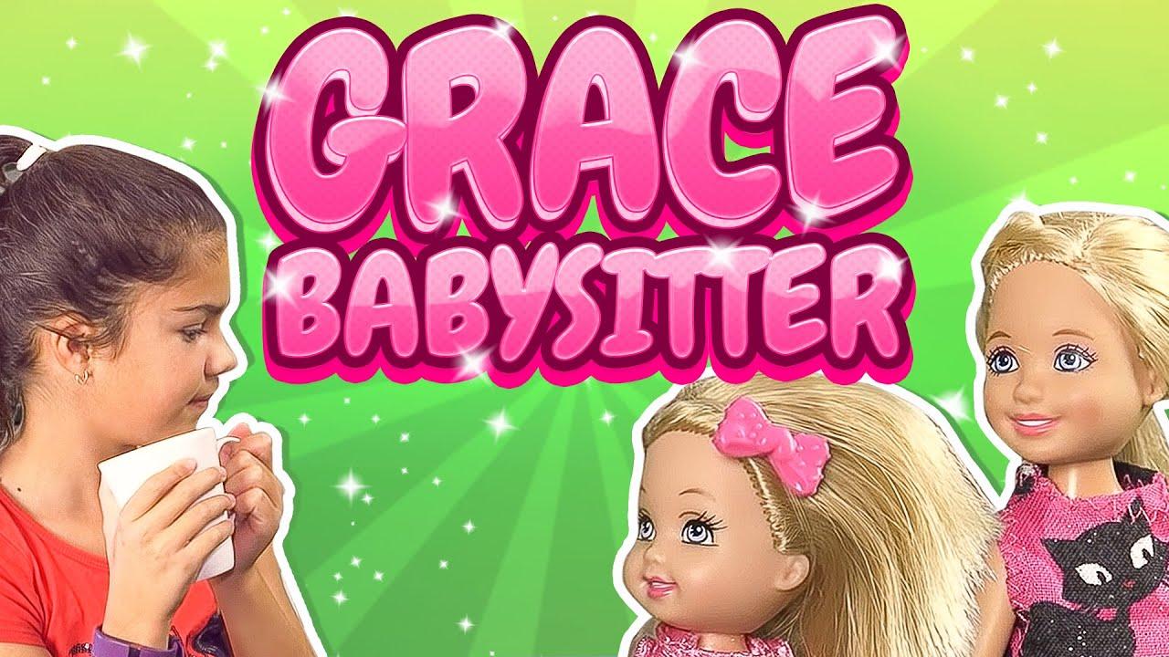 barbie - grace the babysitter