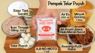 Video Dapur Umami - Pempek Telur Puyuh download MP3, 3GP, MP4, WEBM, AVI, FLV September 2017