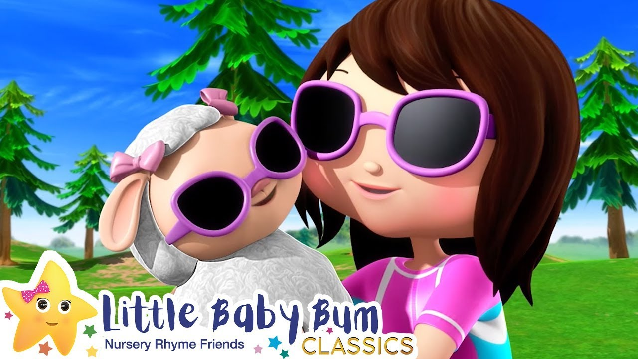 Mary Had a Little Lamb + More Nursery Rhymes & Kids Songs - ABCs and 123s | Little Baby Bum