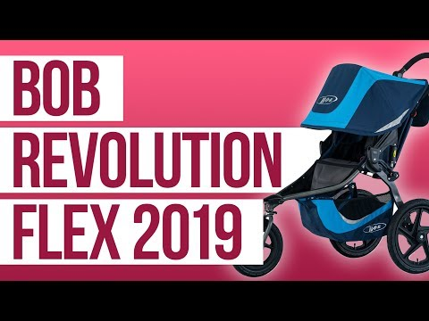 Bob Revolution Flex Running Stroller 2019 | First Look