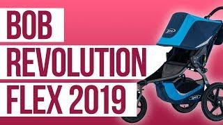 Bob Revolution Flex Running Stroller 2019 | First Look