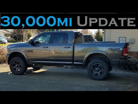 2017 Ram 2500 Cummins 30,000 Mile Review and Update
