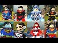 LEGO DC Supervillains - EPIC SUPERMAN Showcase! Black Lantern, Justice League & More!