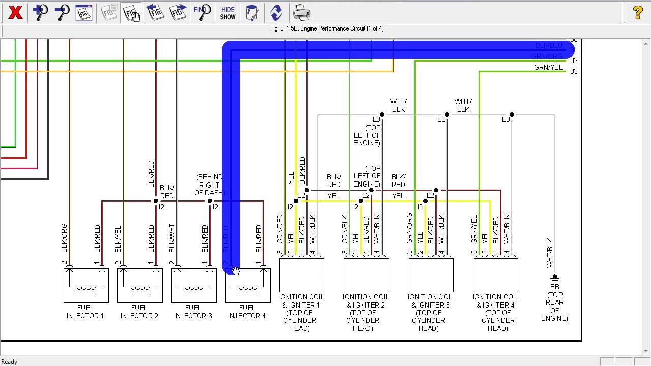 toyota echo 2005 wiring diagram youtube