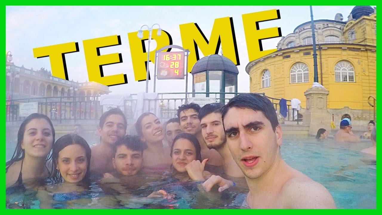 UN BAGNO CALDO ALLE TERME  Gita a Budapest con la classe Ep 2  YouTube