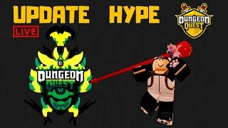 🔴 ⚔️ UPDATE HYPE DUNGEON QUEST *134 LVL* + GIVEAWAYS + CARRY | ROBLOX LIVE (25thAugust 2019)