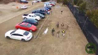 Cedar Creek Airsoft Drone Footage Highlights 1/27/2018