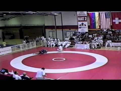 1999 Canada Cup: 130 kg Juan Santos (VEN) vs. Andrew Davidson (RSA)