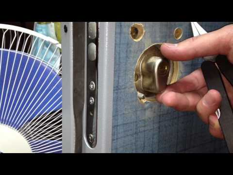 Дверные врезные замки для металлических и деревянных