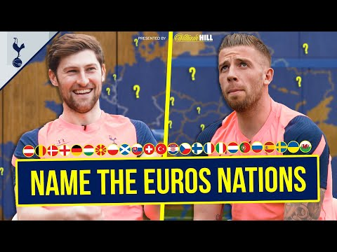Can Toby Alderweireld and Ben Davies name EVERY Euro 2020 nation?