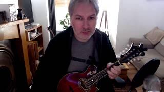 Swinging On The Gate (reel) on mandolin