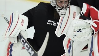 CCM Eflex III Catch Glove and Blocker Review || Pure Goalie
