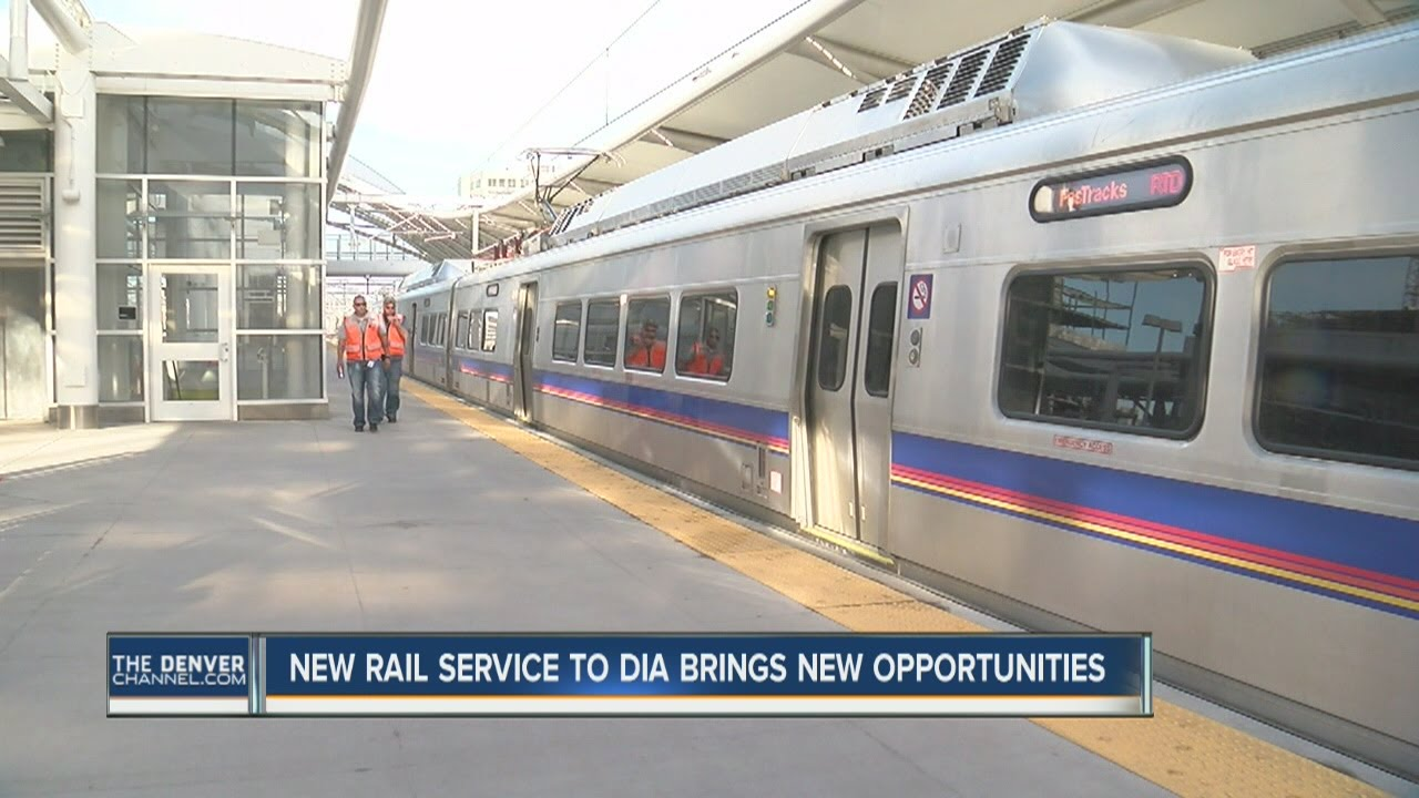 New RTD light rail service to DIA brings new opportunities