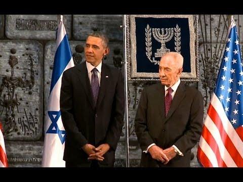 President Obama and President Peres of Israel Speak at State Dinner