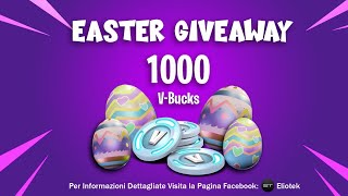 SERVER PRIVATI / VINCI 1000 V-BUCK EASTER GIVEAWAY / FORTNITE